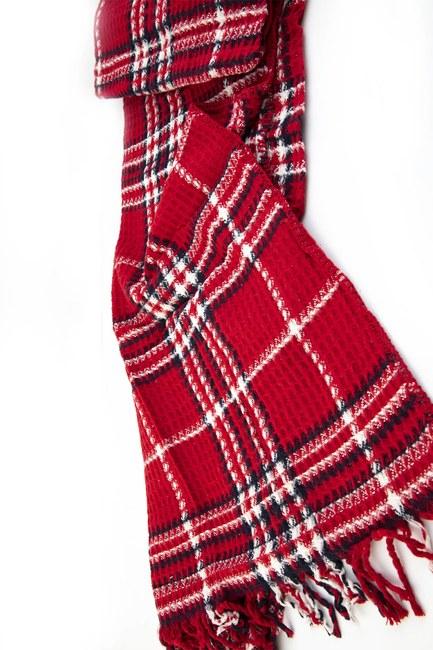 Mizalle Home - Tek Kişilik Battaniye (Kırmızı) (1)