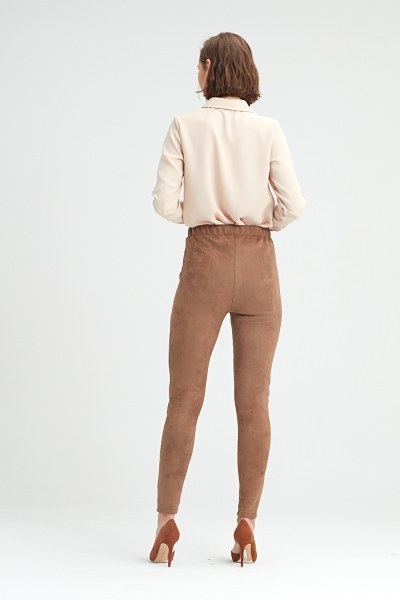 Tight Trousers (Brown) - Thumbnail