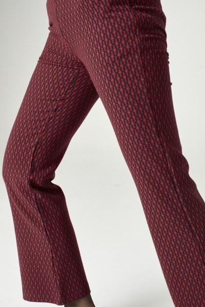 Desenli Pantolon (Kırmızı) - Thumbnail
