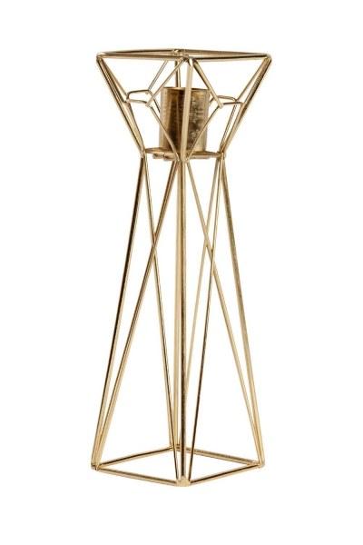 Mizalle Home Dekoratif Metal Mumluk (Büyük)