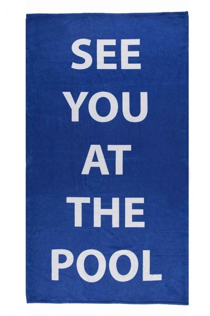 Mizalle Home - Beach Towel (Pool) (1)
