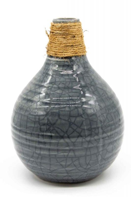 Ceramic Vase (Grey)