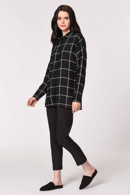 Comfy Shirt (Black) - Thumbnail