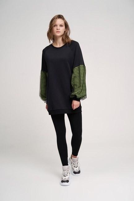 Kazayağı Sweatshirt (Yeşil) - Thumbnail