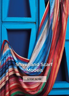 Mizalle shawl and scarf models