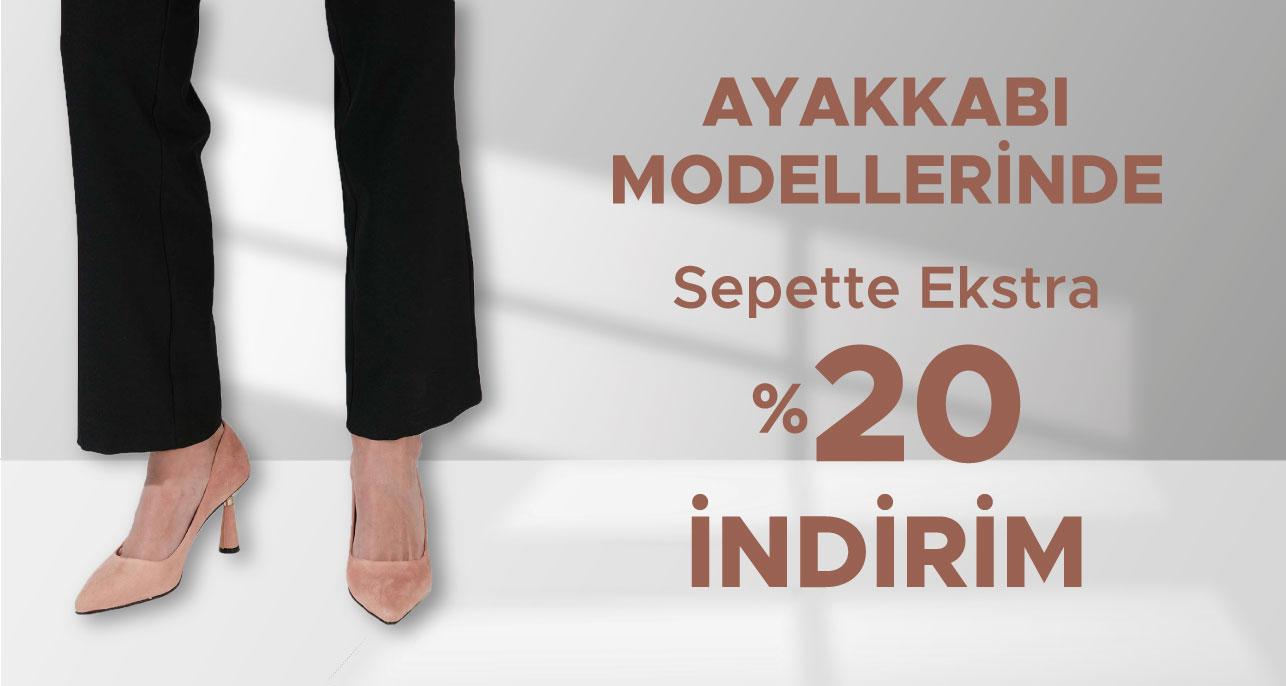 Haziran Ayına Özel Ayakkabı Modellerinde %20 İndirim