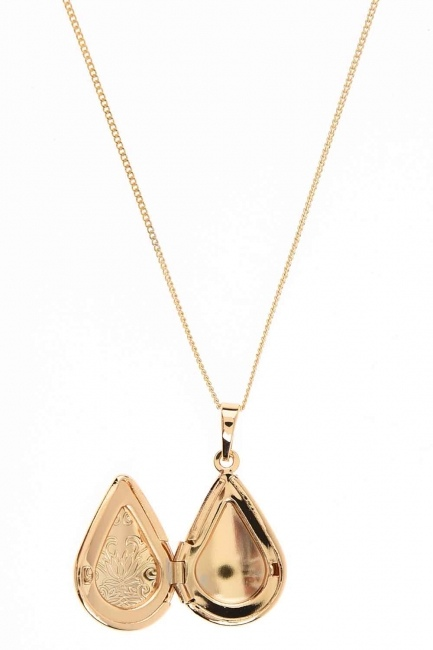 Openable Design Necklace (St) - Thumbnail