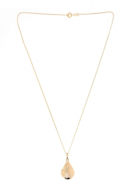 MIZALLE - Openable Design Necklace (St) (1)