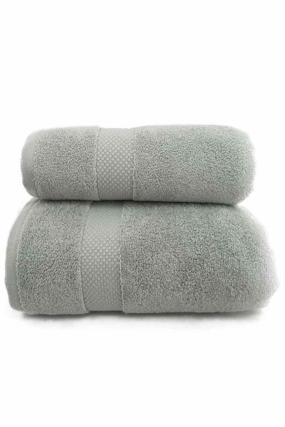 MIZALLE Cotton Bath Towel (85X150) (Sage)
