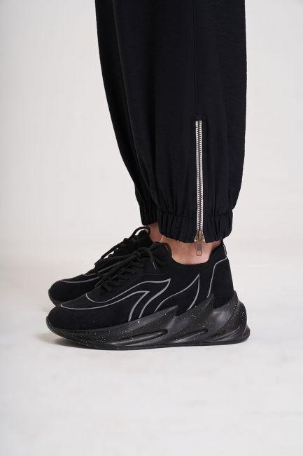 Aerobin Kargo Pantolon (Siyah) - Thumbnail