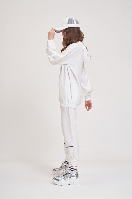 MIZALLE YOUTH - Aerobin Striped Sweatshirt (Ecru) (1)