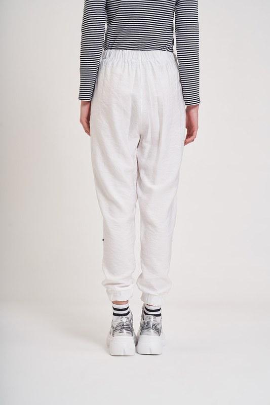 Aerobin Taş Şeritli Pantolon (Ekru)