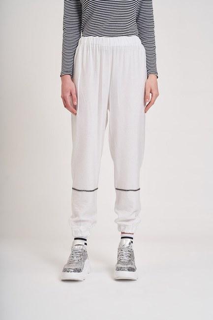 MIZALLE YOUTH - Aerobin Taş Şeritli Pantolon (Ekru) (1)