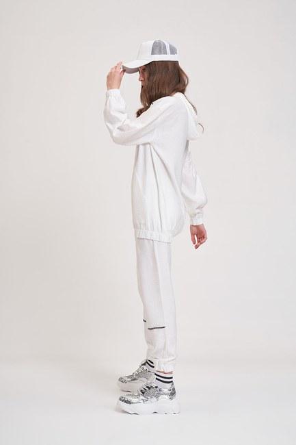MIZALLE YOUTH - Aerobin Taş Şeritli Sweatshirt (Ekru) (1)