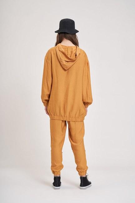 Aerobin Taş Şeritli Sweatshirt (Safran) - Thumbnail
