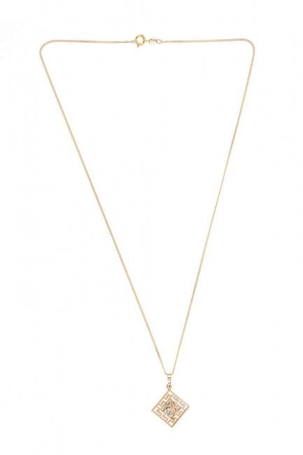 Islamic Steel Necklace (St) - Thumbnail