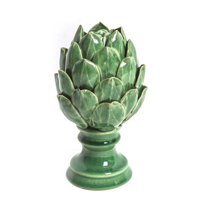 Ananas Figürlü Mumluk (Yeşil)