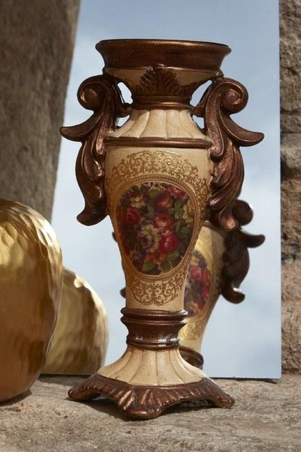 MIZALLE HOME - Antik Desenli Şamdan (1)