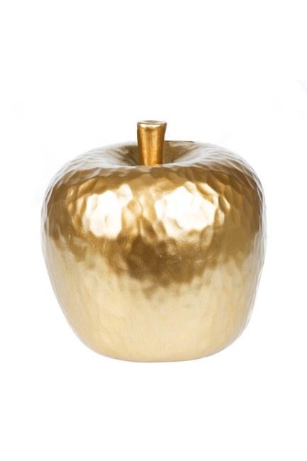 Mizalle Home - ديكور على شكل تفاحة (أصفر)