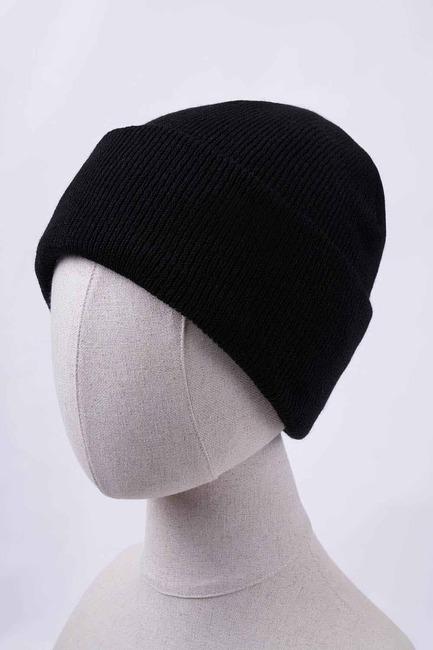 Mizalle - قبعة شتوية صغيرة (أسود)