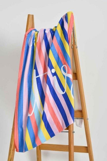 Mizalle Home - منشفة الشاطئ (ملون)