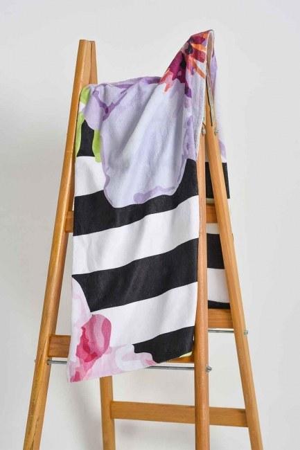 Mizalle Home - منشفة الشاطئ (زهور)