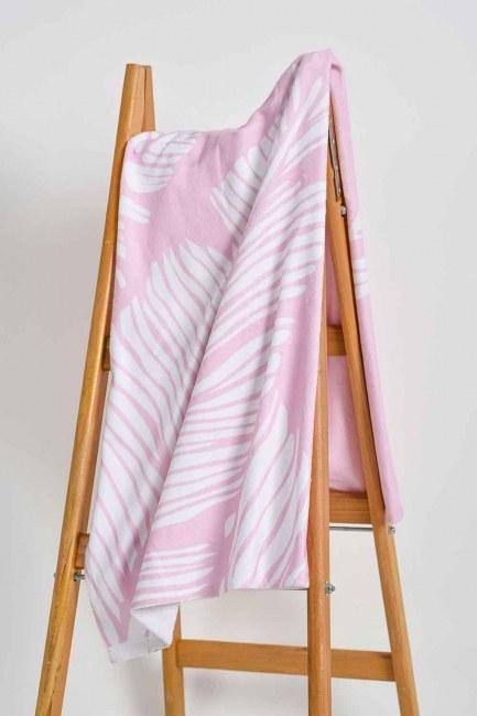 Mizalle Home - منشفة الشاطئ (وردي)