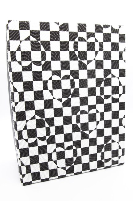Mizalle Home - صندوق مربع أبيض وأسود (9X17)