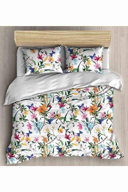 Mizalle Home - طقم فرش سرير كامل مزدوج (ربيعي)