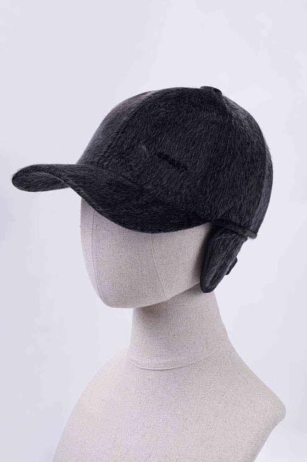 Mizalle - قبعة بفرو ( رمادي)