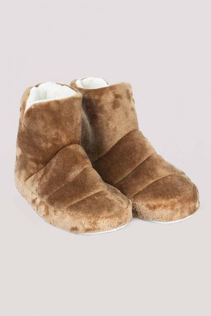 Mizalle - Home Boots (Tan)
