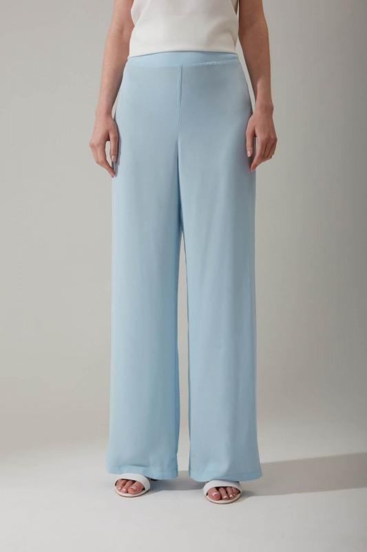 Lastikli Mavi Pantolon