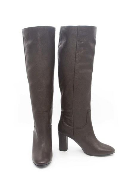 Mizalle - حذاء جلد طويل (بني)