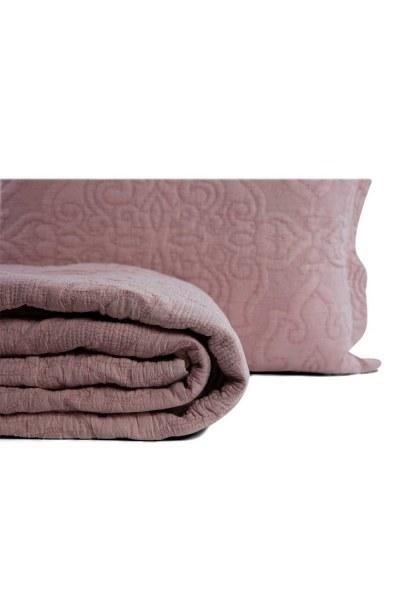 Mizalle Home - غطاء السرير - ليلكي (260X270) (1)