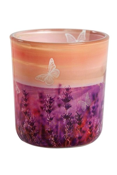Aromatic Lavender Scented Candle - Thumbnail