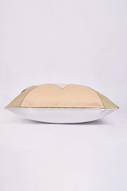 Mizalle Home - غطاء وسادة منقوشة 45x45 (أسود)