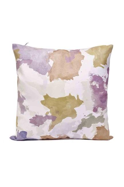 Mizalle Home - غطاء وسادة منقوشة 45x45 (ملونة)