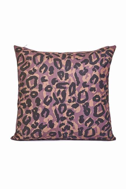 Mizalle Home - غطاء وسادة منقوشة 45x45 (نقشة الفهد)