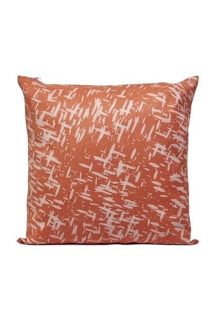 Mizalle Home - غطاء وسادة منقوشة 45x45 (شريط قصير)
