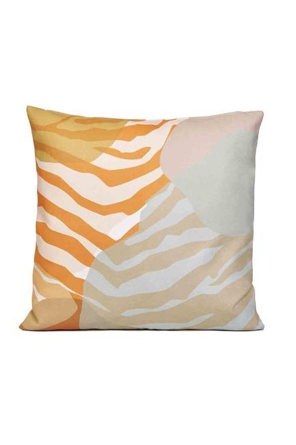 Mizalle Home - غطاء وسادة منقوشة مخططة 45x45