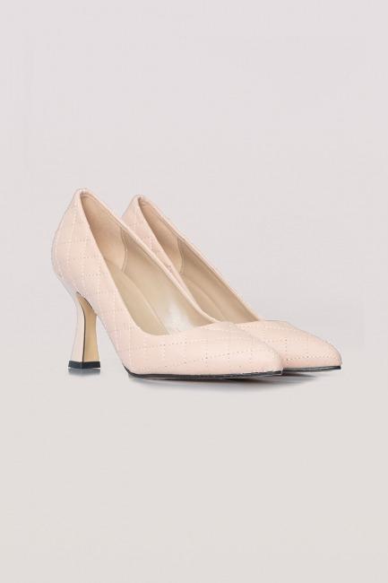 Mizalle - حذاء بكعب مبطن (زهري)