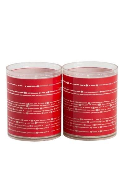 Mizalle Home - اضاءة ديكور بلون أحمر (1)