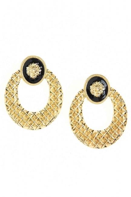 MIZALLE - Lion Figured Earrings (St) (1)