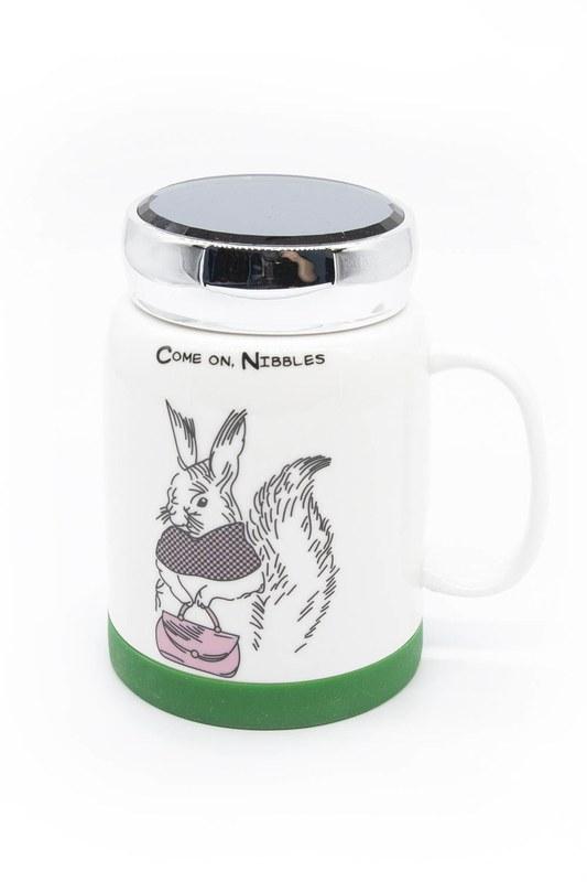 Aynalı Porselen Kupa (Tavşan)
