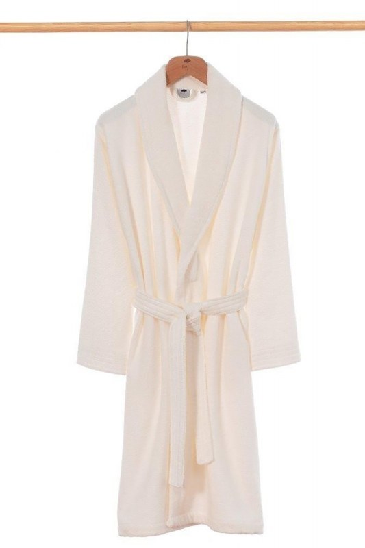Ecru Bamboo Bathrobe