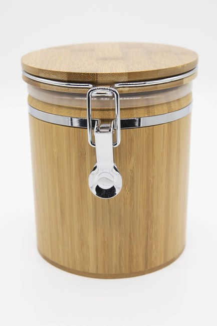 MIZALLE HOME - Bamboo Jar (Big) (1)
