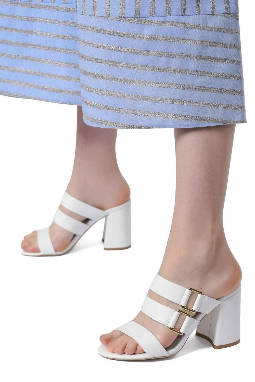 Bantlı Ayakkabı (Beyaz)