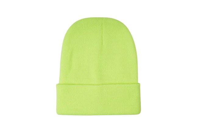 Mizalle - Basic Beanie (Phosphorous Green) (1)
