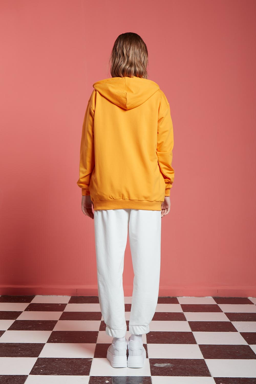 Basic Fermuarlı Mango Sweatshirt