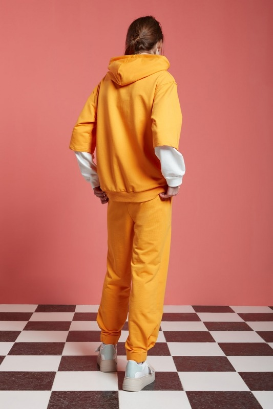Basic Kısa Kollu Sweatshirt (Mango)